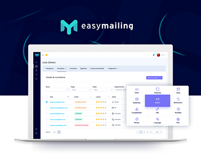Easymailing - Web App