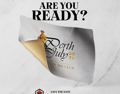Perth July Event Branding