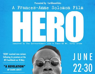 SocaNews - HERO Film Poster & Print Advert