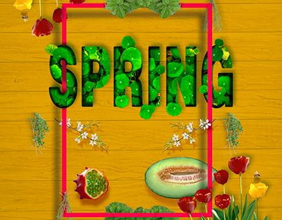 Título: Spring. | Proyecto: Yo y las ideas.