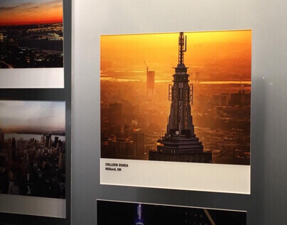 Photograph Displayed in The Empire State Building