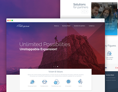 Metglobal Website Design