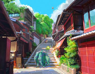 When Pixar meets Hayao Miyazaki