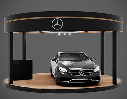 Mercedes car display