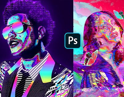 Photoshop Course - Retro Futuristic Portraits