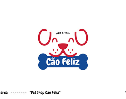"""Marca - """"Pet Shop Cão Feliz"""""""