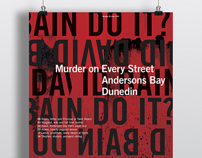 Murder on Every Street: Awarded MISTD || Massey