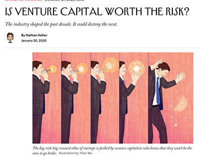 The New Yorker - Is venture capital worth the risk?