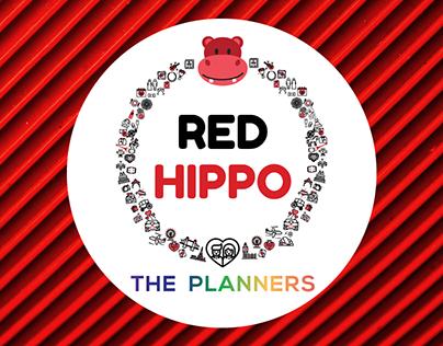 Red Hippo- Logo Designing