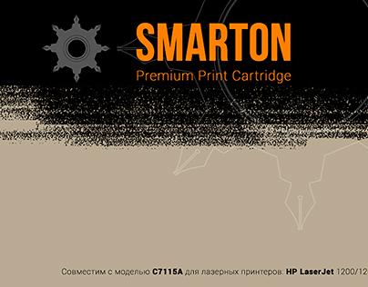 Package design and branding for Laser Printer cartridge