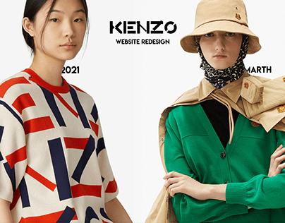 KENZO - Redesign Online Store