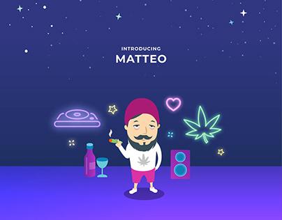 Amazon Dash x Cannabis Store | Service Visualisation