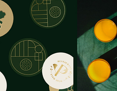 PARK RESTAURANT | Visual Identity