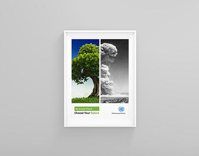 Choose Your Future Poster Design