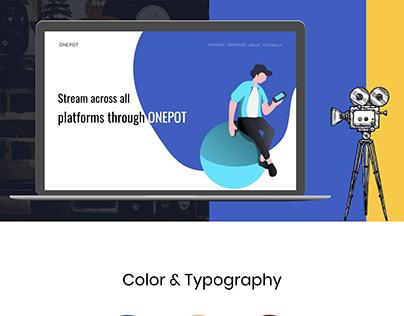 ONEPOT web presentation