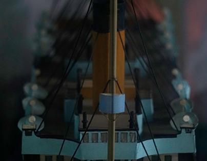 Titanic Ship model