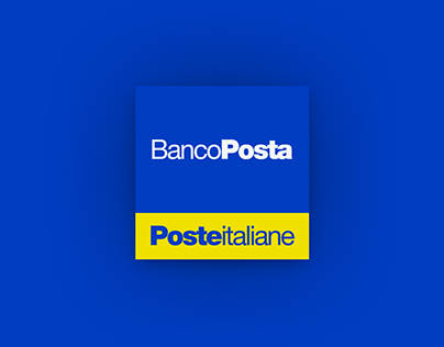 Bancoposta App - Redesign Concept