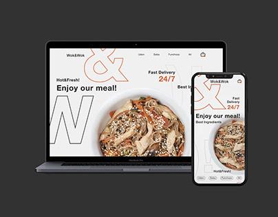 UX/UI design for Wok&Wok