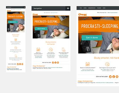 Chegg - Email Responsive Design