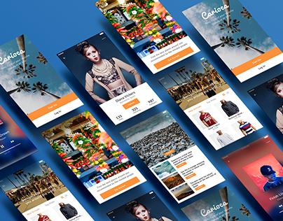 Showcase - Carioca Mobile UI Kit