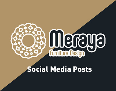 Meraya Brand - Social Media Posts