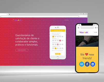 YouAsk Landing Page