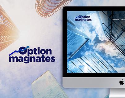 Optionmagnates - web design