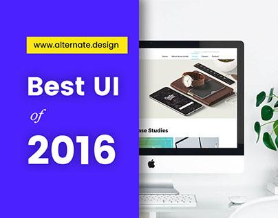 Best UI of 2016