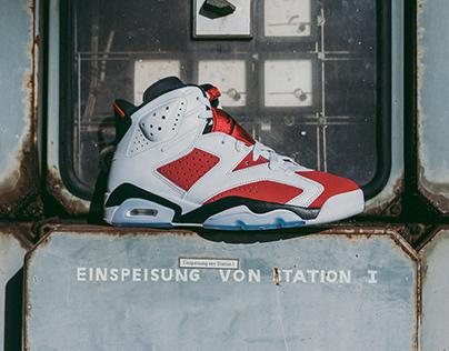 """Jordan 6 """"Carmine"""""""