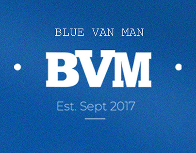 Blue van man Merch drop