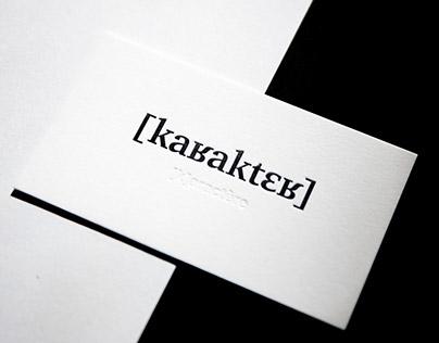 [k]aractère - Business cards