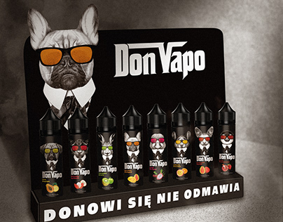 Vaping brand - Don Vapo.