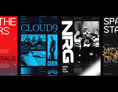 Esports Poster Series - Volume 1