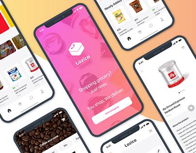App Design: Lazica