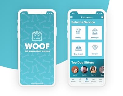 WOOF - Dog Sitting App