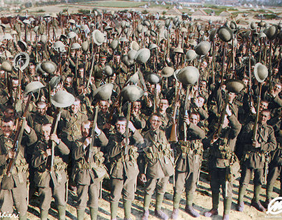Battalion of the Durham Light Infantry, 1916, WWI
