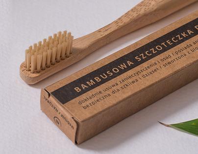 Eco bamboo tooth brush
