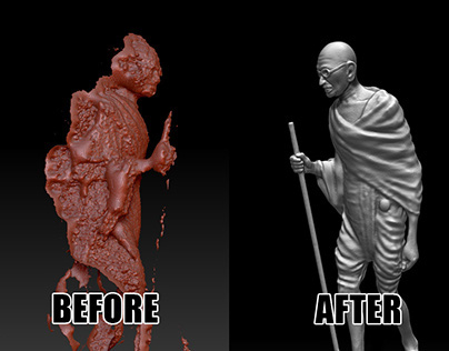 Cleaning 3D Scans