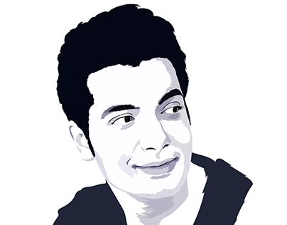 Sharad Malhotra Vector Illustration Artwork Portrait