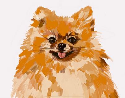 Dog_Illustration