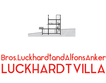 CAD Drawing Test: Luckhardt Villa