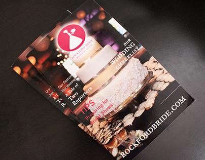 Rockford Wedding Magazine Design 2015