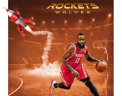 NBA Social Media - Rockets x Wolves and James Harden