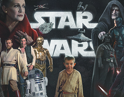 Star Wars Poster with my son