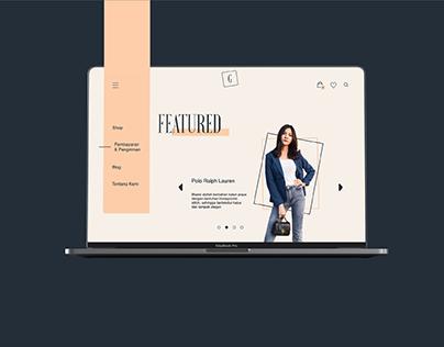 Gaea La Mode - Website Design
