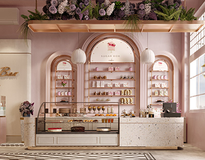 Sugar Box Cake Shop in Saudi Arabia