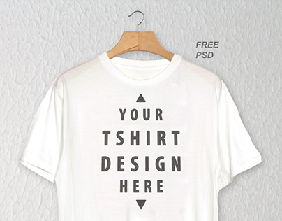 Free Realistic Hanging T Shirt Mockup Psd On Behance