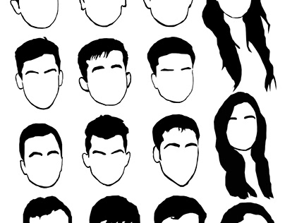 All the faces : Digital Sketch