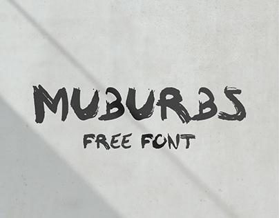 MÜBURBS - FREE FONT