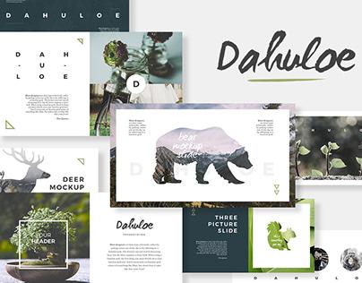 Dahuloe Presentation Template